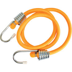 SCA Metal Hook Bungee Cord - 90cm, Orange, , scanz_hi-res