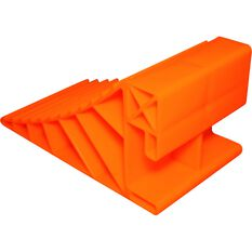 Explore Caravan Wheel Chock Orange Pair, , scanz_hi-res