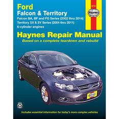 Haynes Car Manual For Ford Falcon / Territory 2002-2014 - 36734, , scanz_hi-res