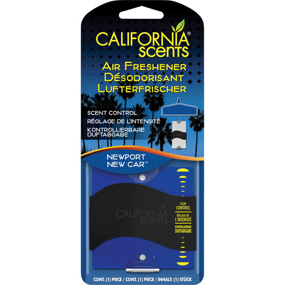 California Scents Air Freshener - New Car, , scanz_hi-res