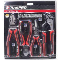 ToolPRO Plier Set - 4 Pieces, , scanz_hi-res