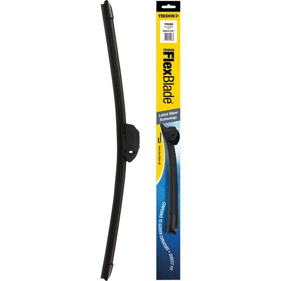 Tridon Flex Blade Single Wiper - 26in, Hook, , scanz_hi-res