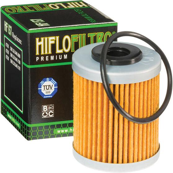 Motorcycle Oil Filter - HF157, , scanz_hi-res