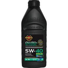 Penrite Enviro+ Engine Oil - 5W-40 1 Litre, , scanz_hi-res