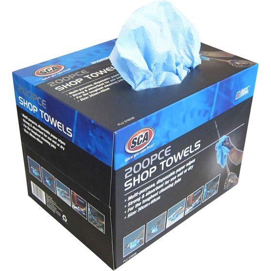 SCA Shop Towels - 200 Pack, , scanz_hi-res