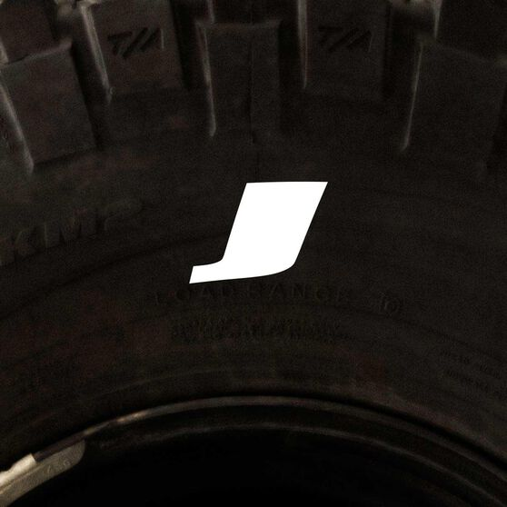Tire Stickers - Letter J, , scanz_hi-res