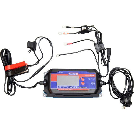 Matson 12V 10 Amp Battery Charger, , scanz_hi-res
