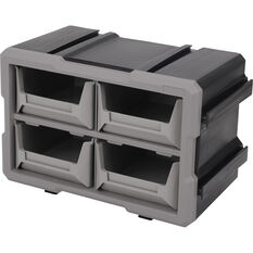 ToolPRO Connectable Organiser - 4 Tray, , scanz_hi-res
