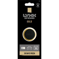 Lynx Vent Mini Air Freshener - Gold, , scanz_hi-res