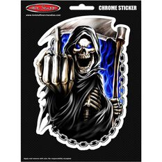 Hot Stuff Sticker - Reaper Finger Chains, Vinyl, , scanz_hi-res