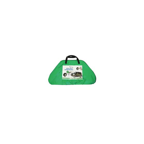 Polar Snow Chains - Compact 4X4, Green / Yellow / Red, , scanz_hi-res