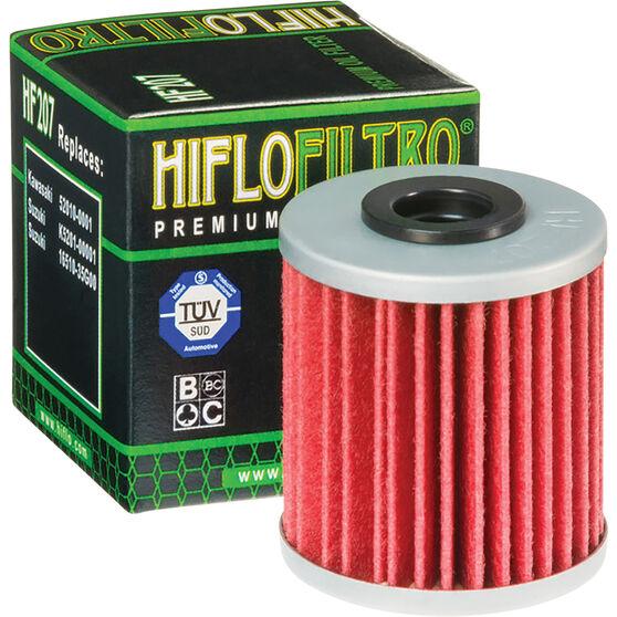 HifloFiltro Motorcycle Oil Filter HF207, , scanz_hi-res