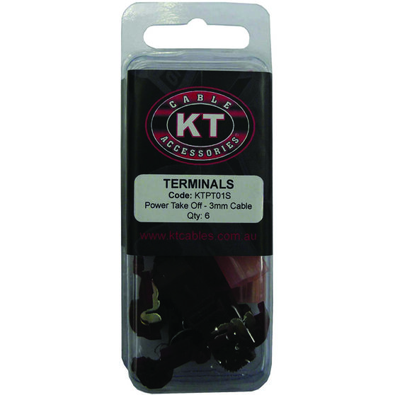KT Cable Power Take Off - Red, 6 Pack, , scanz_hi-res