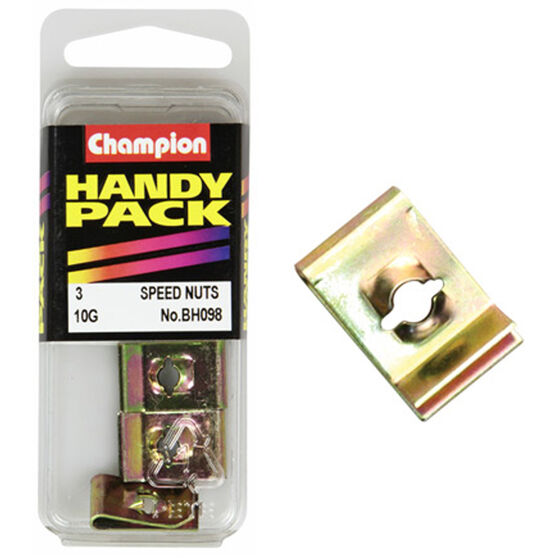 Champion Speed Nuts (Clips) - 10G, BH098, Handy Pack, , scanz_hi-res
