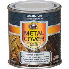 SCA Metal Cover Rust Paint - Enamel, Heavy Duty Grey Primer, 250mL, , scanz_hi-res