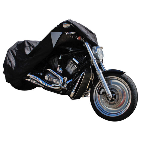 CoverALL Motorcycle Cover - Gold Protection, Suits 750-1500cc, Large, , scanz_hi-res