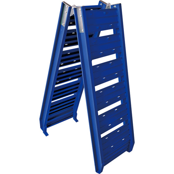 SCA Loading Ramp Aluminium Blue Single 220kg, , scanz_hi-res