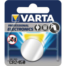 Varta Lithium Coin Battery - CR2450, 1 Pack, , scanz_hi-res