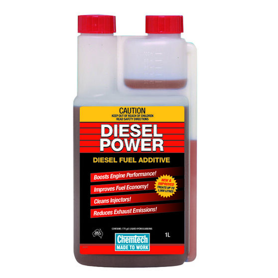 Chemtech Diesel Power Fuel Additive - 1 Litre, , scanz_hi-res