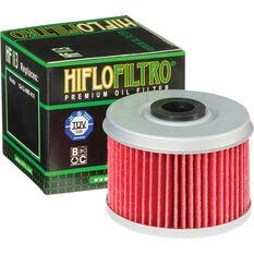 HifloFiltro Motorcycle Oil Filter HF113, , scanz_hi-res