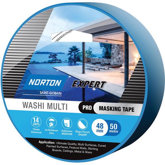 Norton Expert 14 Day Masking Tape - 48mm x 50m, , scanz_hi-res