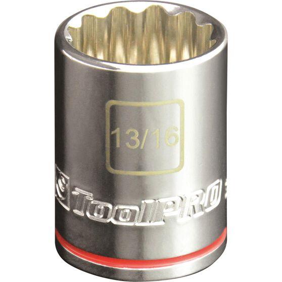 "ToolPRO Single Socket - 1/2"" Drive, 13/16"", , scanz_hi-res"