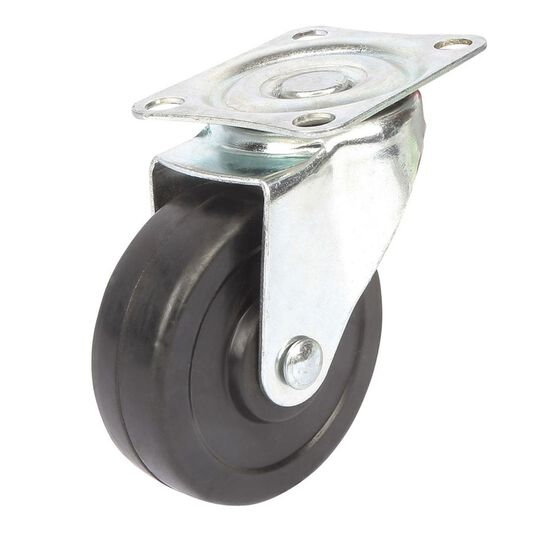 SCA Caster Wheel - 75 x 25mm, Plastic, Swivel, , scanz_hi-res