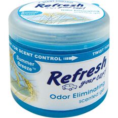 Refresh Gel Can Air Freshener - Summer Breeze 128g, , scanz_hi-res