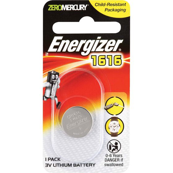 Specialty Lithium Battery - 1616, 1 Pack, , scanz_hi-res