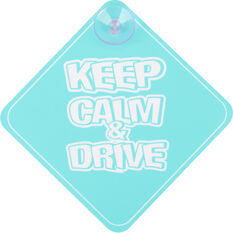 Cabin Crew Kids Keep Calm & Drive Sign, , scanz_hi-res
