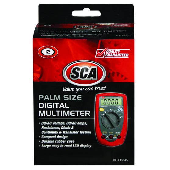 SCA Palm Size Digital Multimeter, , scanz_hi-res