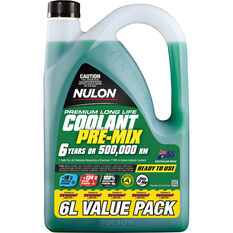 Nulon Green Premium Long Life Coolant Premix 6 Litre, , scanz_hi-res