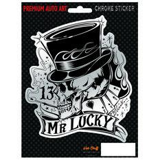 Hot Stuff Sticker - Mr Lucky, Chrome, , scanz_hi-res