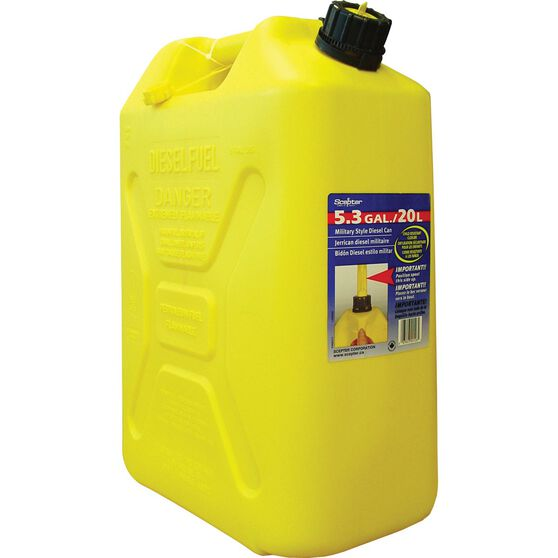Scepter Diesel Jerry Can - 20 Litre, , scanz_hi-res