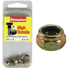 Nylon Nuts - M6x1.00, High Tensile, , scanz_hi-res