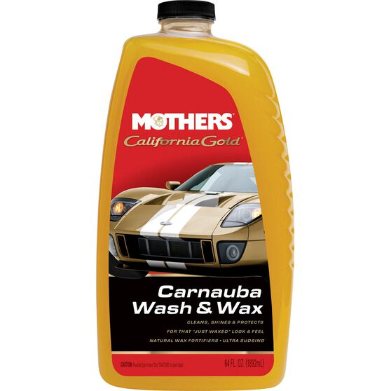 Mothers California Gold Carnauba Wash and Wax - 1.89 Litre, , scanz_hi-res