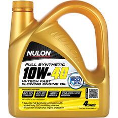 Nulon Hi-Tech Fast Flowing Engine Oil - 10W-40 4 Litre, , scanz_hi-res