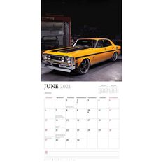 Calendar Ford Classic Cars Square 2021, , scanz_hi-res