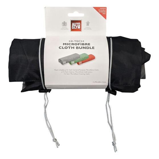 Autoglym Hi-Tech Triple Pack Microfibre Bundle, , scanz_hi-res