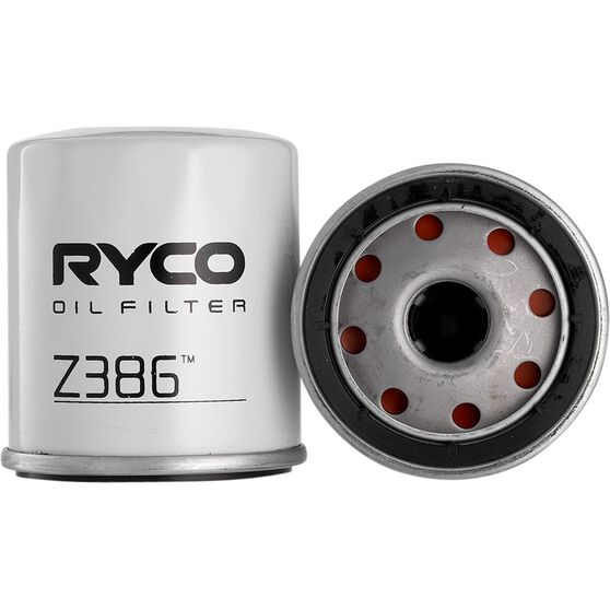 Ryco Oil Filter - Z386, , scanz_hi-res