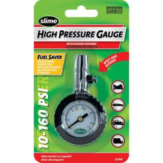 Slime High Pressure Tyre Gauge - 10-160 PSI, , scanz_hi-res