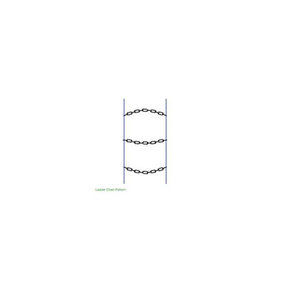 Polar Snow Chains - Compact 4X4, Green / Yellow / Green, , scanz_hi-res