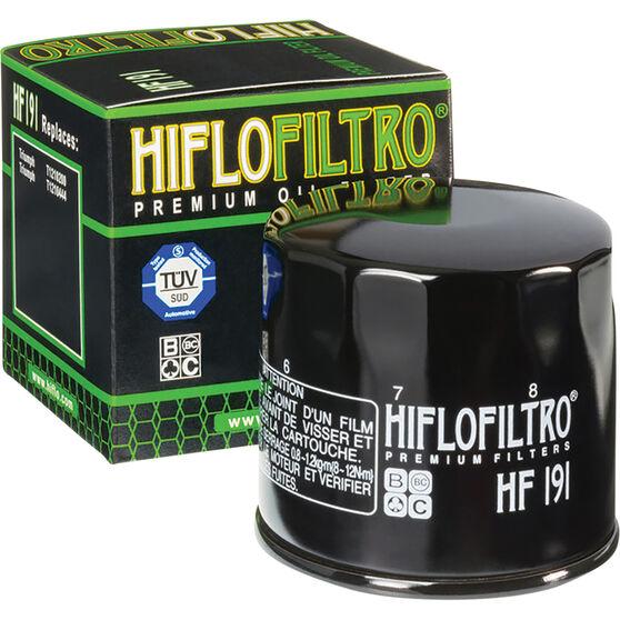 Motorcycle Oil Filter - HF191, , scanz_hi-res
