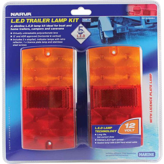 Narva Trailer Lamp - Kit, LED, 12V, , scanz_hi-res