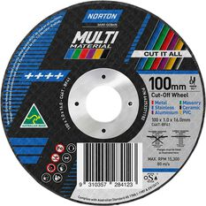 Norton Multi Purpose Grinding Disc - 100mm, , scanz_hi-res
