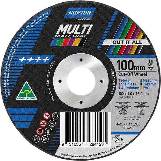Norton Multi Purpose Grinding Disc 100mm, , scanz_hi-res