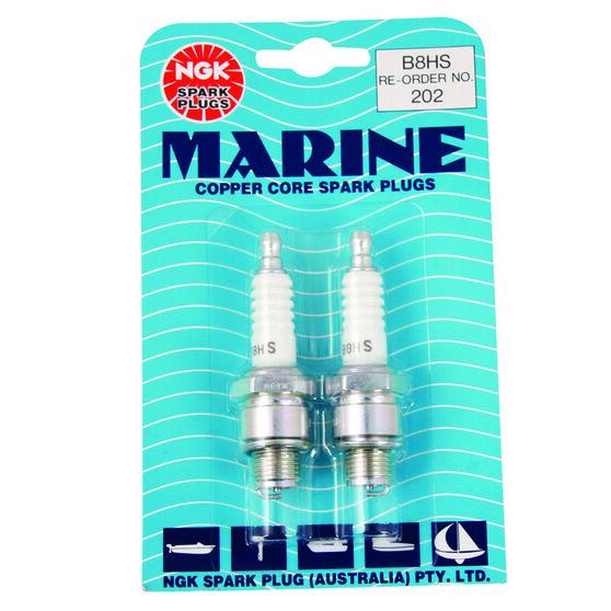 NGK Marine Spark Plug - 202B8HS, 2 Pack, , scanz_hi-res