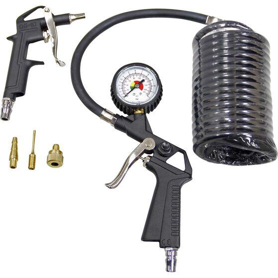 Inflator Air Tool Kit - 6 Piece, , scanz_hi-res