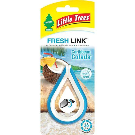 Little Trees Link Air Freshener - Caribbean Colda, , scanz_hi-res