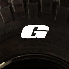 Tire Stickers - Letter G, , scanz_hi-res